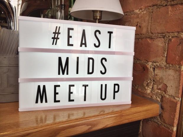 #eastmidsmeetup light box